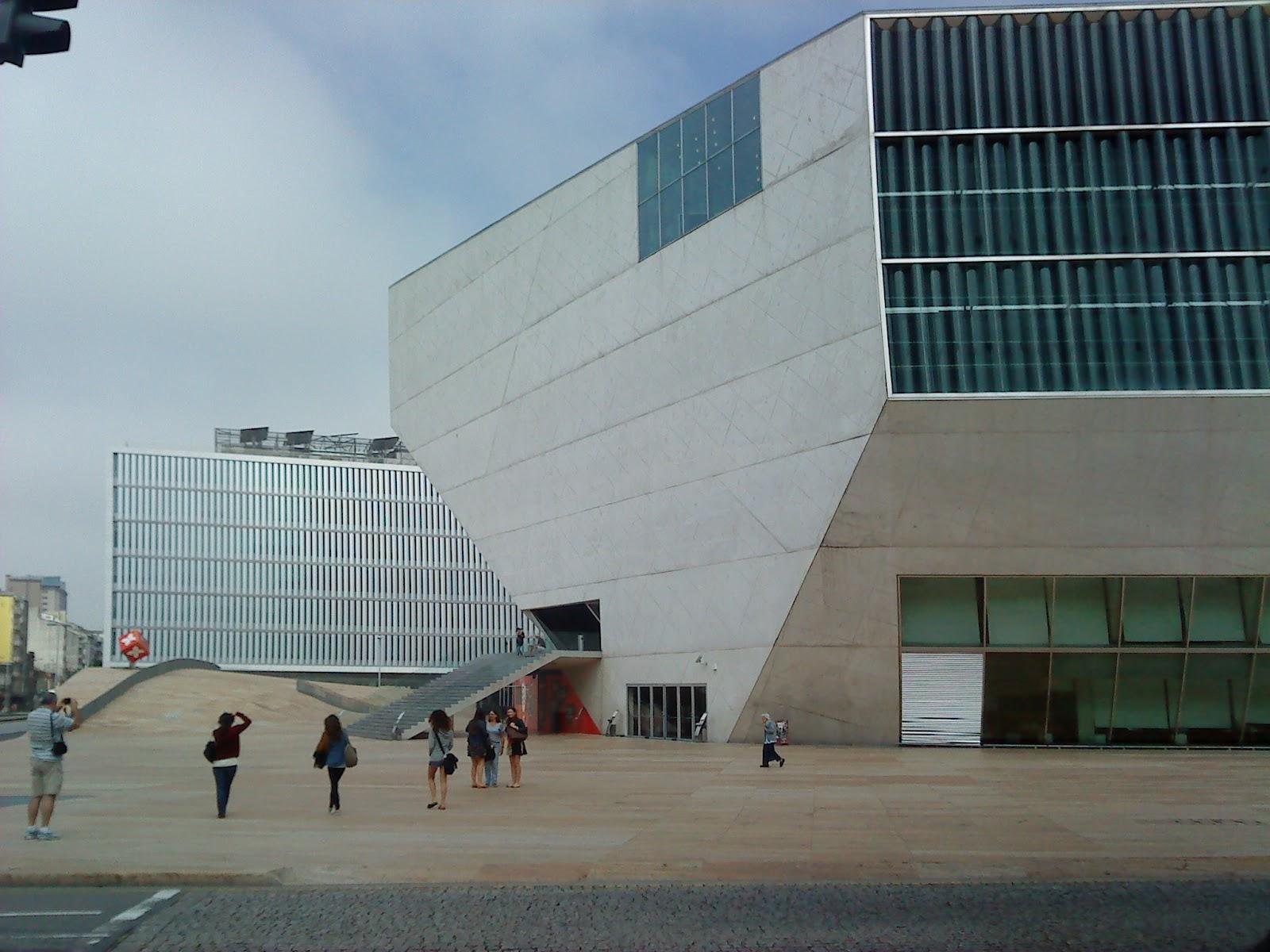 Oporto house of music rem koolhaas casa de la m sica - Casa de la musica oporto ...
